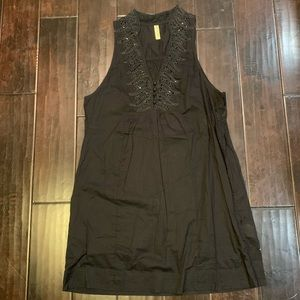 Black Free People Dress with Pockets M